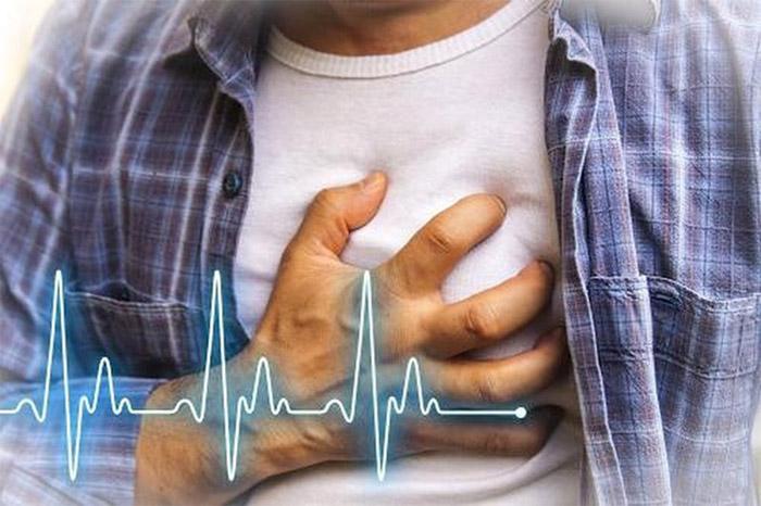 Bạn có thể cảm nhận rõ rệt khi tim đập nhanh