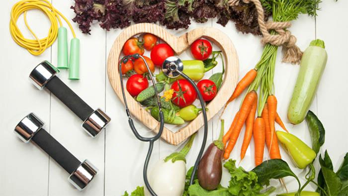 Chế độ ăn uống và sinh hoạt điều độ tốt cho tim mạch