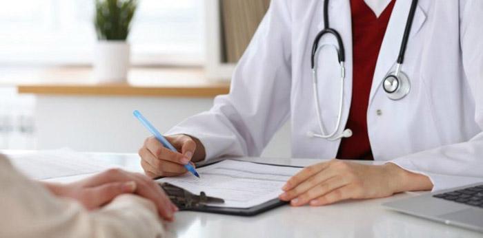 Cần tìm gặp bác sĩ để thăm khám và xác định chính xác tình trạng bệnh