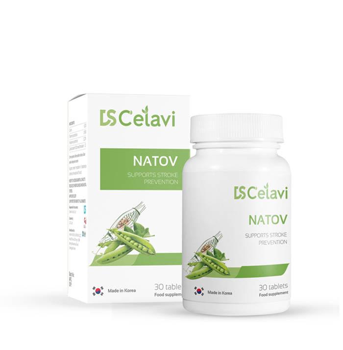 NATOV là thực phẩm bảo vệ sức khỏe giúp hỗ trợ làm tan cục máu đông khá tốt