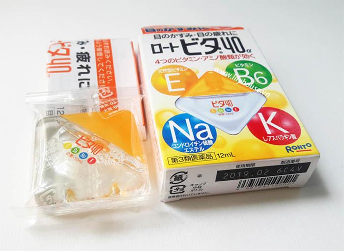 Đây là một trong những sản phẩm thuốc nhỏ mắt của Nhật được nhiều người yêu thích